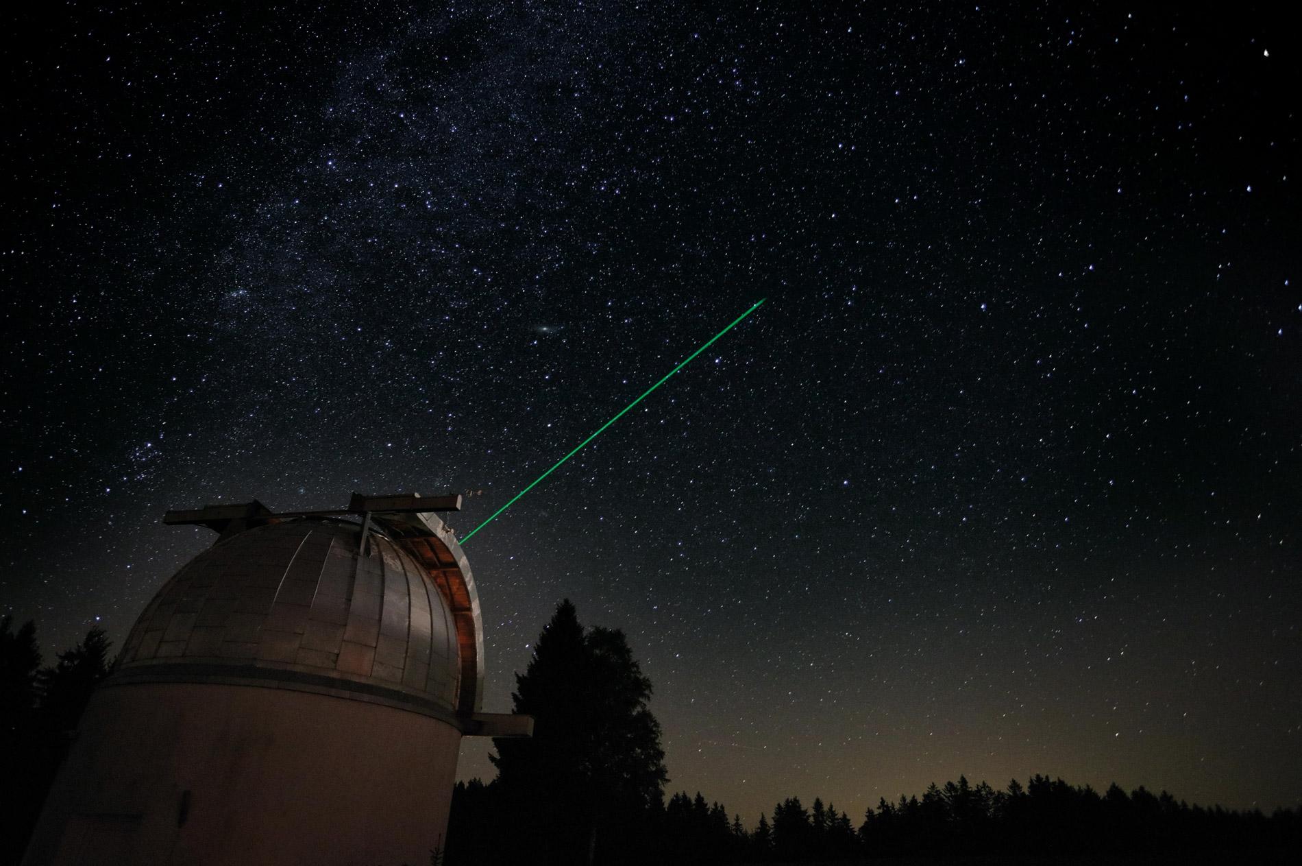 Laser Sandl in Austira