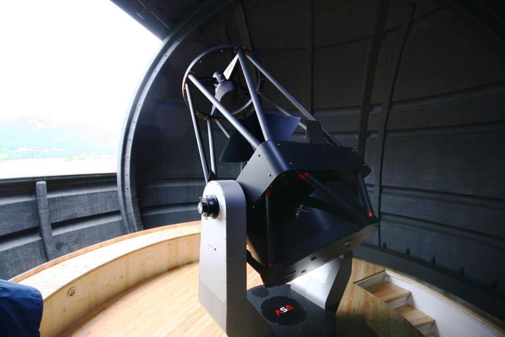 AZ800 at Observatory in Austria