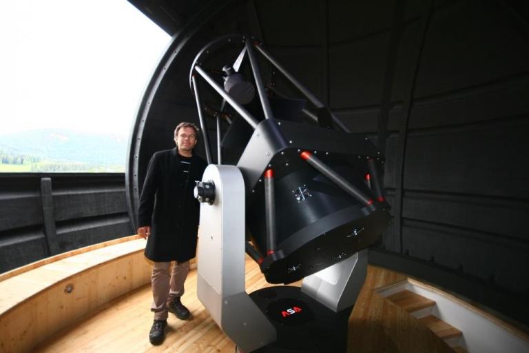 AZ800 at Observatory Zeutschach