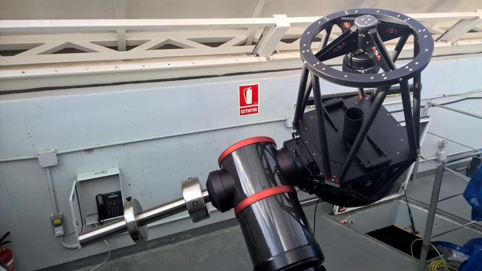 ASA400 on DDM85 in Spain