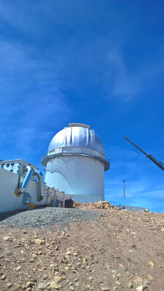 Observatory Spain - ASA400 on DDM85