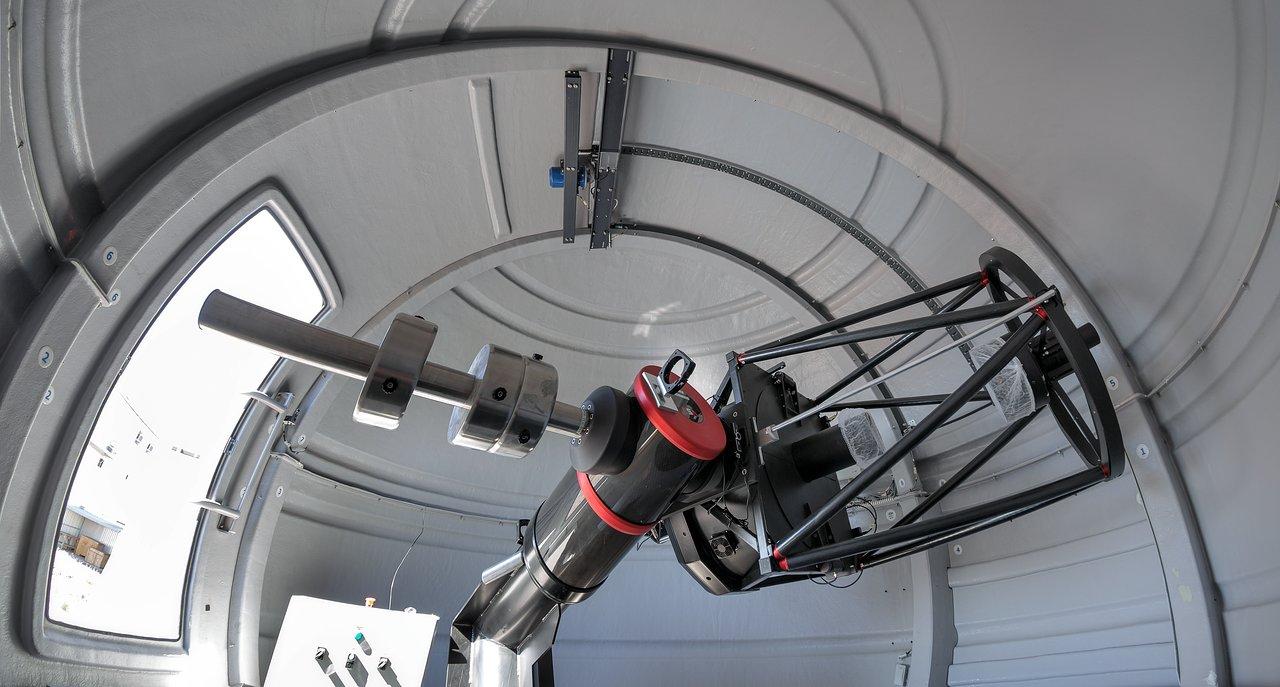 ASA600 on ASA Direct Drive mount at La Silla (ESO)