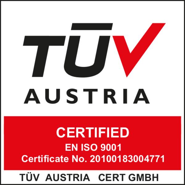 Tüv Austria Certified