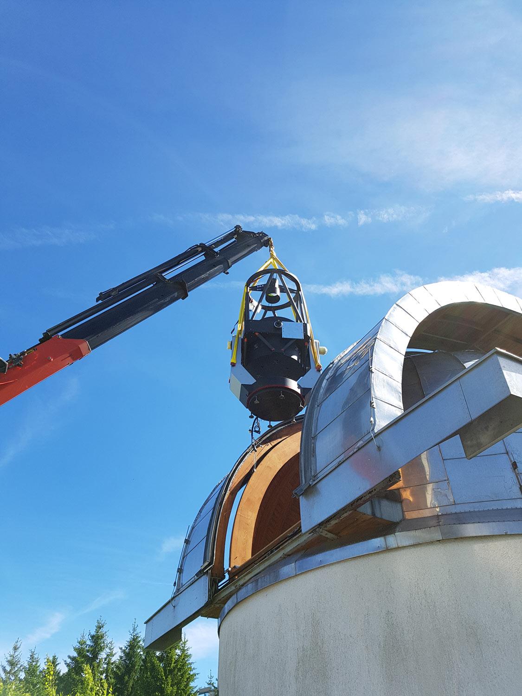 ASAZ800 in observatory Freiwald